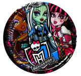 Talerzyki Monster High