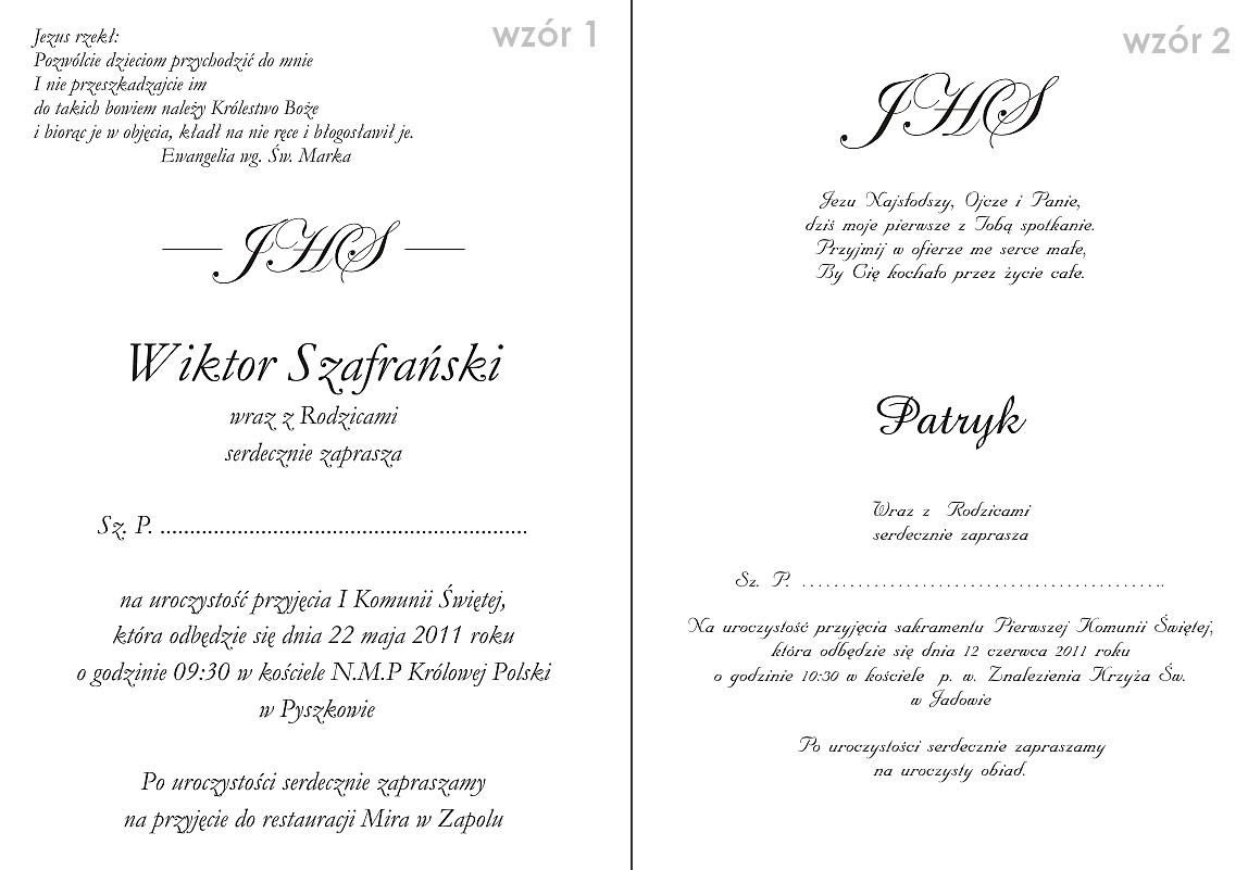 Popularne Obiekty Wzory Zaproszeń ślubnych Do Pobrania Ani83 Usafrica